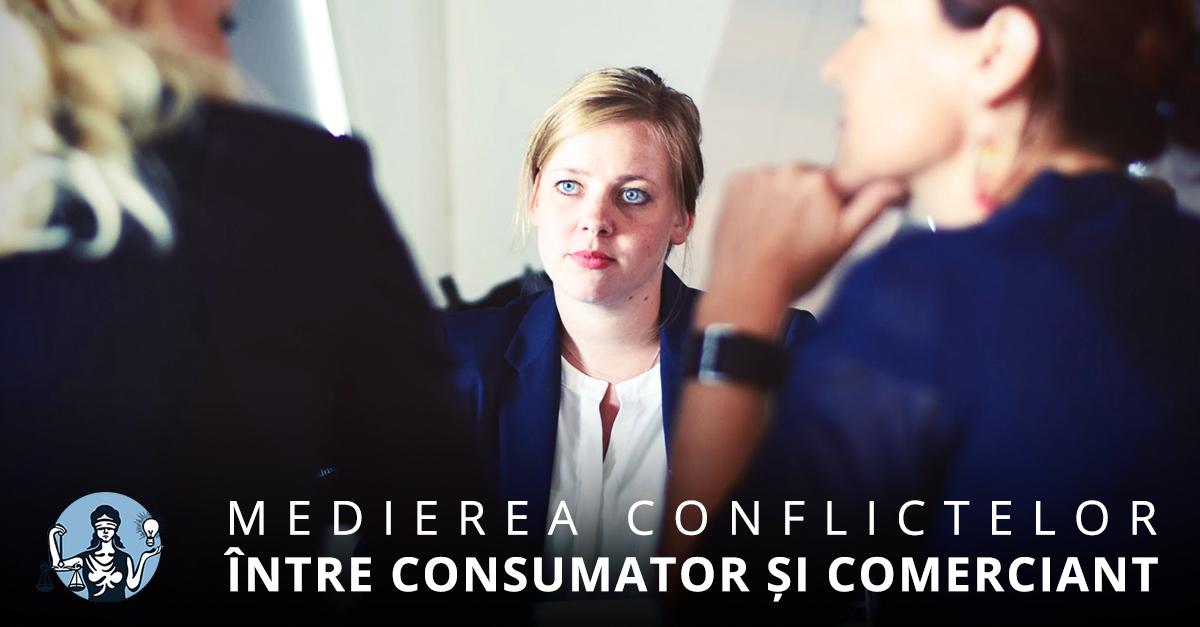 Medierea conflictelor între consumator și comerciant